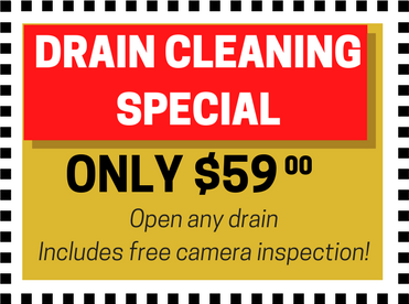 DRAIN CLEANINGSPECIAL