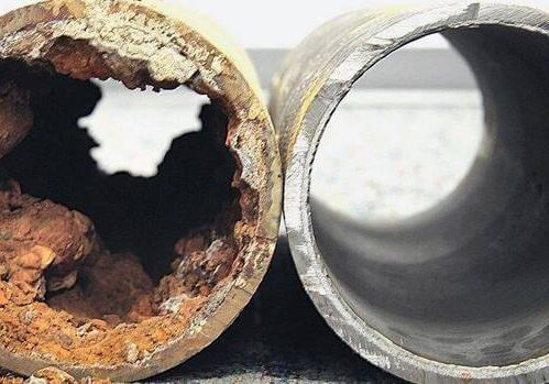 Repaired Sewer Pipe